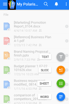 Polaris Office Pro Apk Screenshots
